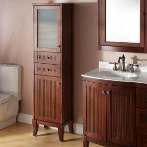 Bathroom Linen Storage Cabinet
