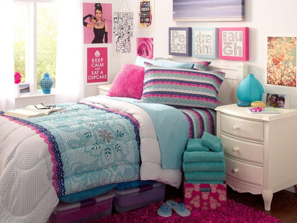 Teen bedroom decor makeover